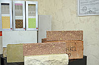 """Облицовочная фасадная плитка """"Melstone"""" оливковая, черная, красная, коричневая, желтая"""