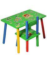"""Стол +  2 стула W02-81 Львенок и черепаха.  Столик+2 стульчика  """"Львенок и черепаха """""""