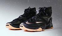 """Баскетбольные кроссовки Nike LeBron 13 """"Black Lion/Gum"""""""