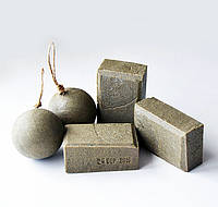 """Мыло травяное глицериновое с глинами и солью """"Свежесть"""""""