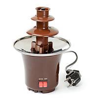 Мини шоколадный фонтан chocolate fondue fountain mini, фото 1