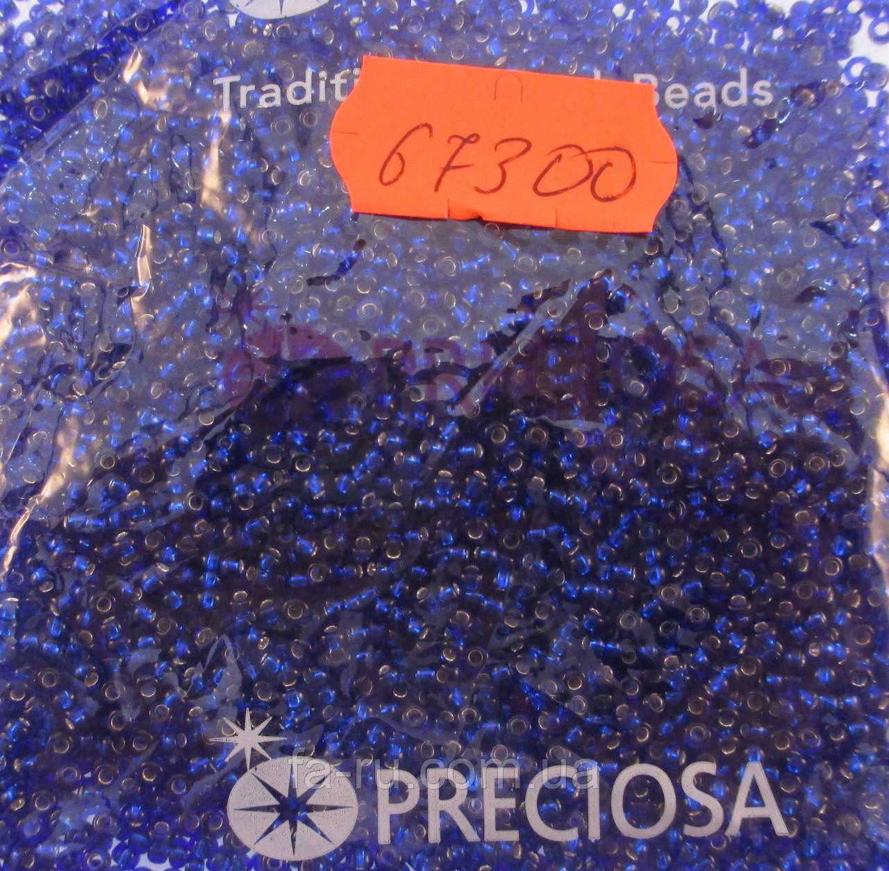 Бисер 10/0, цвет - синий ирис, №67300