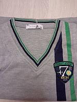 жилетка, одежда для мальчиков 4-12 лет