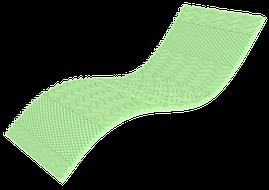 Мини-матрас Take&Go Bamboo Top Green