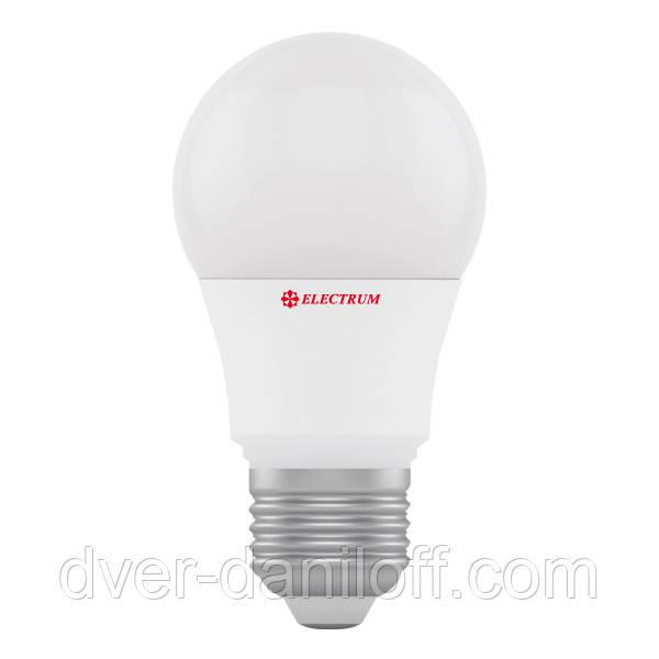 Лампа светодиодная electrum стандартная A55 7W E27 4000 PA LS-7
