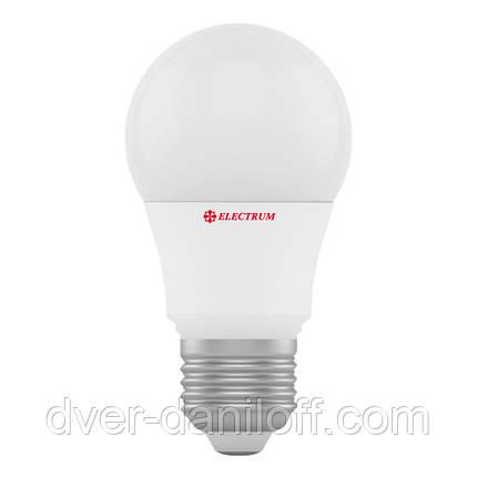 Лампа светодиодная electrum стандартная A55 7W E27 4000 PA LS-7, фото 2