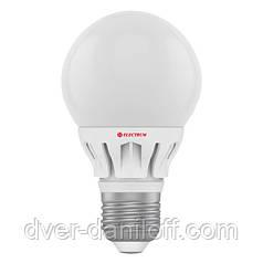 Лампа ELECTRUM светодиодная сферическая GLOBE D50 6W E27 2700 CR LB-12