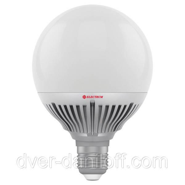 Лампа ELECTRUM светодиодная сферическая GLOBE D95 15W E27 4000 PA LG-24