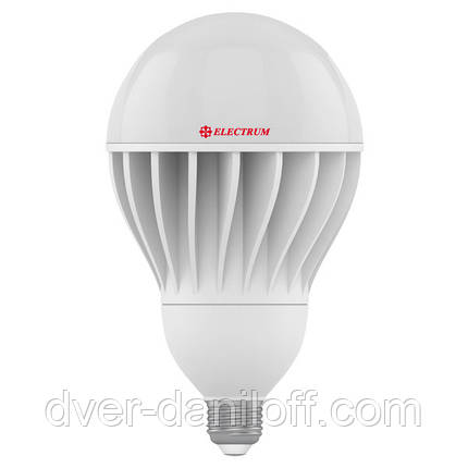 Лампа ELECTRUM светодиодная сферическая GLOBE D120 30W E27 4000 AL LG-30, фото 2