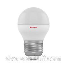 Лампа ELECTRUM светодиодная сферическая D45 2W E27 4000 PA LB-2