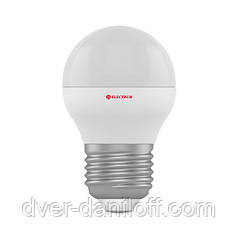 Лампа ELECTRUM светодиодная сферическая D45 3W Е27 2700 PA LB-8