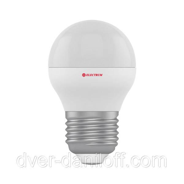Лампа ELECTRUM светодиодная сферическая D45 3W Е27 4000 PA LB-8