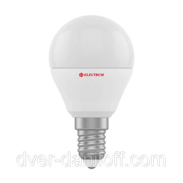 Лампа ELECTRUM светодиодная сферическая D45 4W Е27 4000 PA LB-10