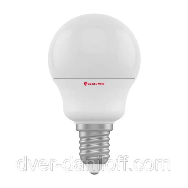 Лампа ELECTRUM светодиодная сферическая D45 6W E14 4000 PA LB-9