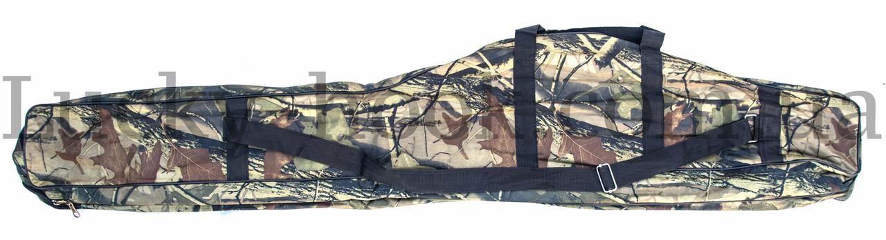 Чехол для удочки дубок с карманом под катушку 150см