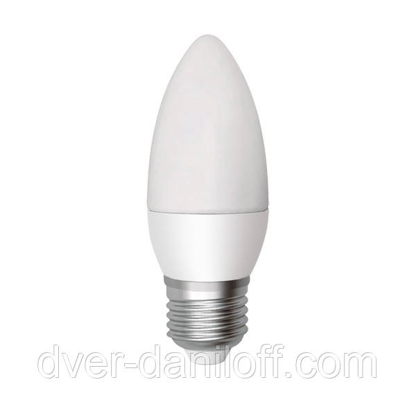 Лампа ELECTRUM светодиодная свеча С37 6W E27 2700 PA LC-9