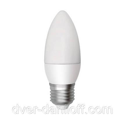 Лампа ELECTRUM светодиодная свеча С37 6W E27 4000 PA LC-9, фото 2