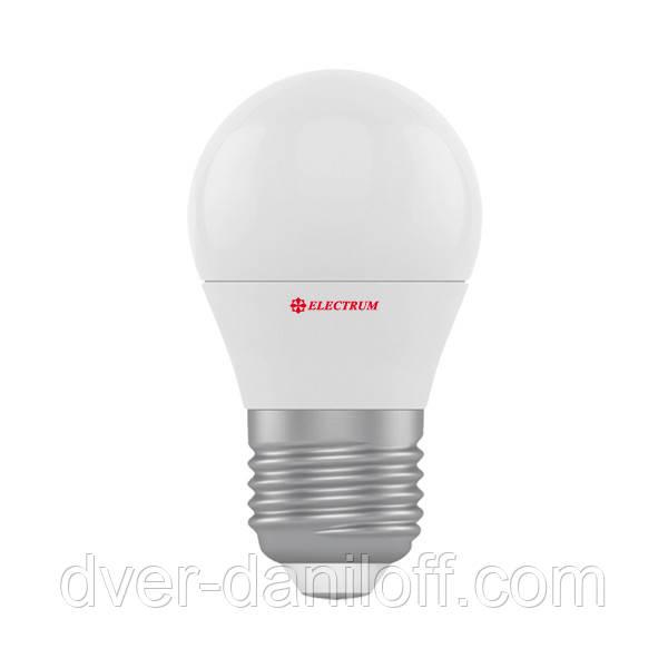 Лампа ELECTRUM светодиодная сферическая D45 6W E27 4000 PA LB-9