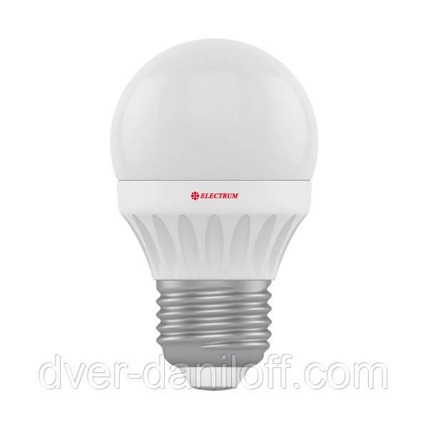 Лампа ELECTRUM светодиодная сферическая D45 7W PA LB-12 E27 4000