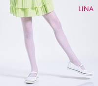 Kолготки для девочек с рисунком LINA 20 (5), р 128-158
