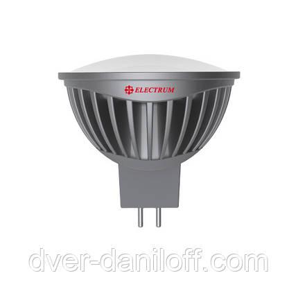 Лампа ELECTRUM светодиодная MR16 5W GU5.3 4000 AL LR-20 A, фото 2
