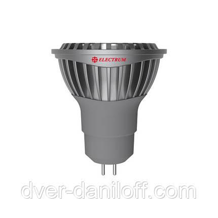 Лампа ELECTRUM светодиодная MR16 6W GU5.3 4000 AL LR-C, фото 2