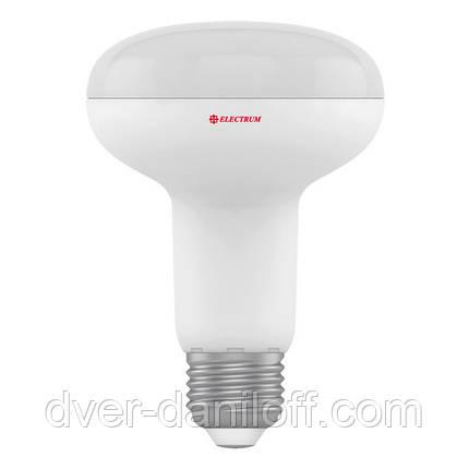 Лампа ELECTRUM светодиодная рефлекторная R80 10W PA LR-13 E27 3000, фото 2