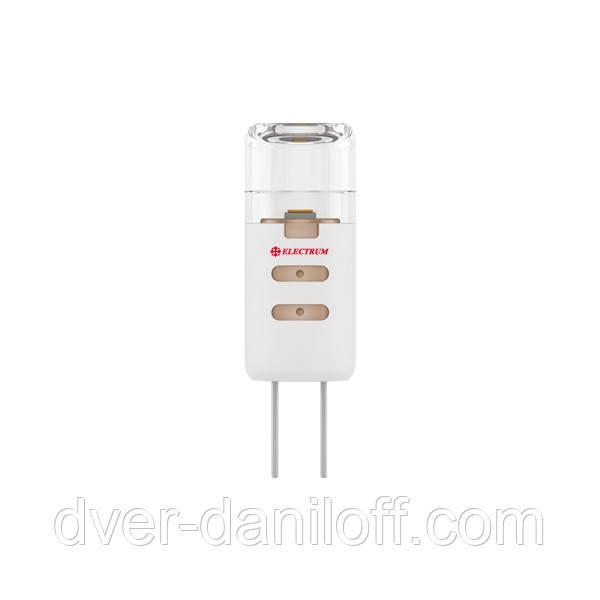 Лампа ELECTRUM светодиодная капсульная G4 1.5W P LC- 2 GU4 3000 12V проз.