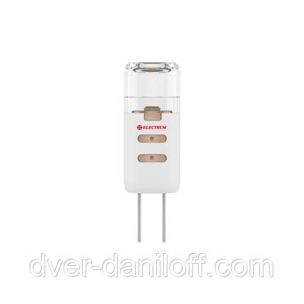 Лампа ELECTRUM светодиодная капсульная G4 1.5W P LC- 2 GU4 3000 12V проз., фото 2