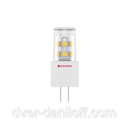 Лампа ELECTRUM светодиодная капсульная G4 2W Cer LC-13 G4 4000, фото 2