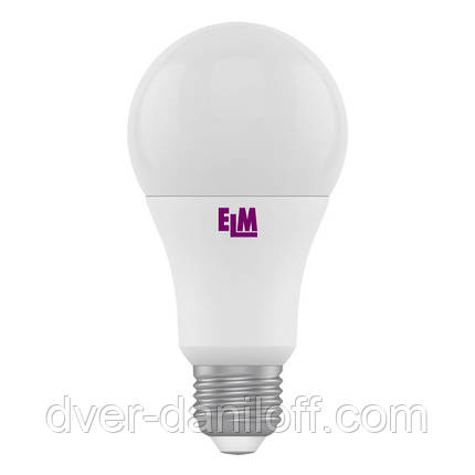 Лампа ELM светодиодная B60 10W PA10 E27 2700 ELM, фото 2
