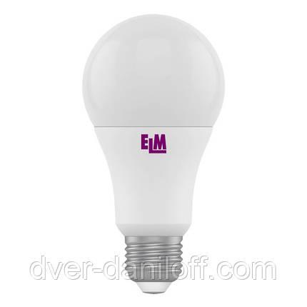 Лампа ELM светодиодная B60 10W PA10 E27 4000 ELM, фото 2
