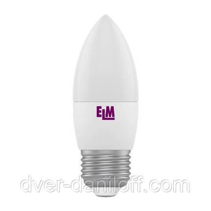 Лампа ELM светодиодная С37 4W PA11 E27 4000 ELM, фото 2