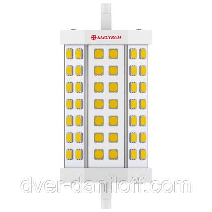 Лампа ELECTRUM светодиодная 7W R7s 4000 AL LL-42 проз. A, фото 2
