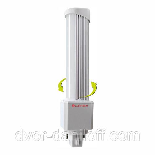 Лампа ELECTRUM светодиодная PL 8W G24 4000 AL LW-16