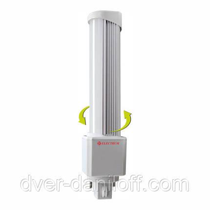 Лампа ELECTRUM светодиодная PL 8W G24 4000 AL LW-16, фото 2