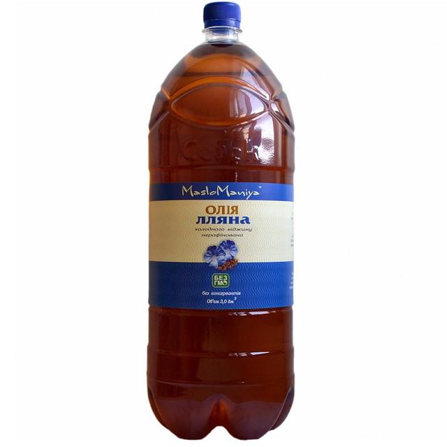 Льняное масло  3л.
