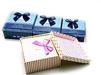 "Коробки упаковочные ""Квадратные"" набор 3шт 19х19х9,5 - 17х17х8 - 15х15х6,5см (26880)"