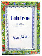 Фоторамка цветная для сертификатов грамот массив дерева 205×295мм (29165)