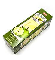 Благовония Green Apple Hem 8шт/уп. Аромапалочки Зеленое яблоко (28965)