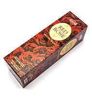 Благовония Red Rose Hem 8шт/уп. Аромапалочки Красная Роза (28962)