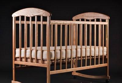 Детская кроватка Наталка - Ольха светлая