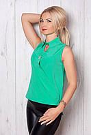 Оригинальная блуза с рубашечным воротником
