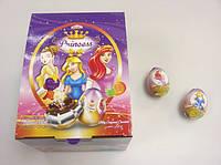 Шоколадное яйцо Принцессы Princess 25 гр.
