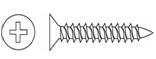 Саморез для крепления гипсокартона к металлическому профилю