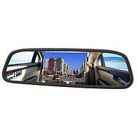 4.3 дюйма TFT цветной автомобильный универсальный жк монитор зеркало заднего вида