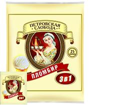 Кофейный напиток Петровская Слобода 3 в 1 Пломбир 25 шт.