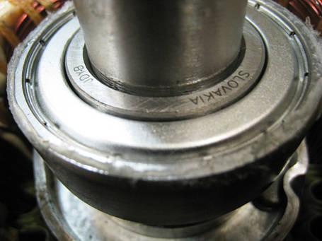 Однофазный электродвигатель АИ1Е 71 В4  (0,75 кВт, 1500 об/мин), фото 2