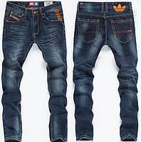 Качественные мужские джинсы DIESEL ADIDAS. Удобны в использовании. Стильные джинсы. Купить джинсы. Код: КДН120