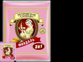 Кофейный напиток Петровская Слобода 3 в 1 Миндаль 25 шт.